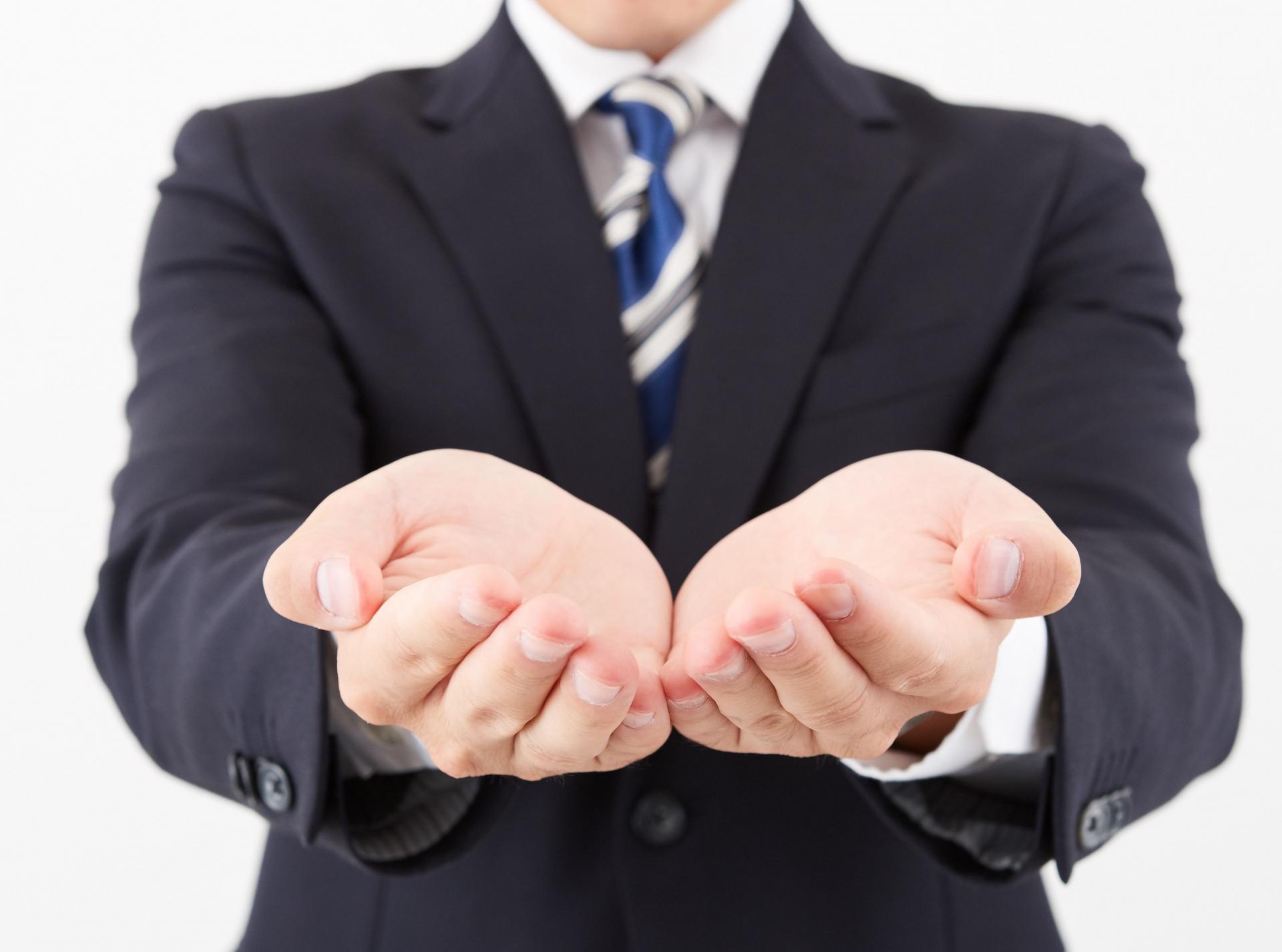 契約率を劇的に高めるクロージング 6つの重要ポイント_差し出す