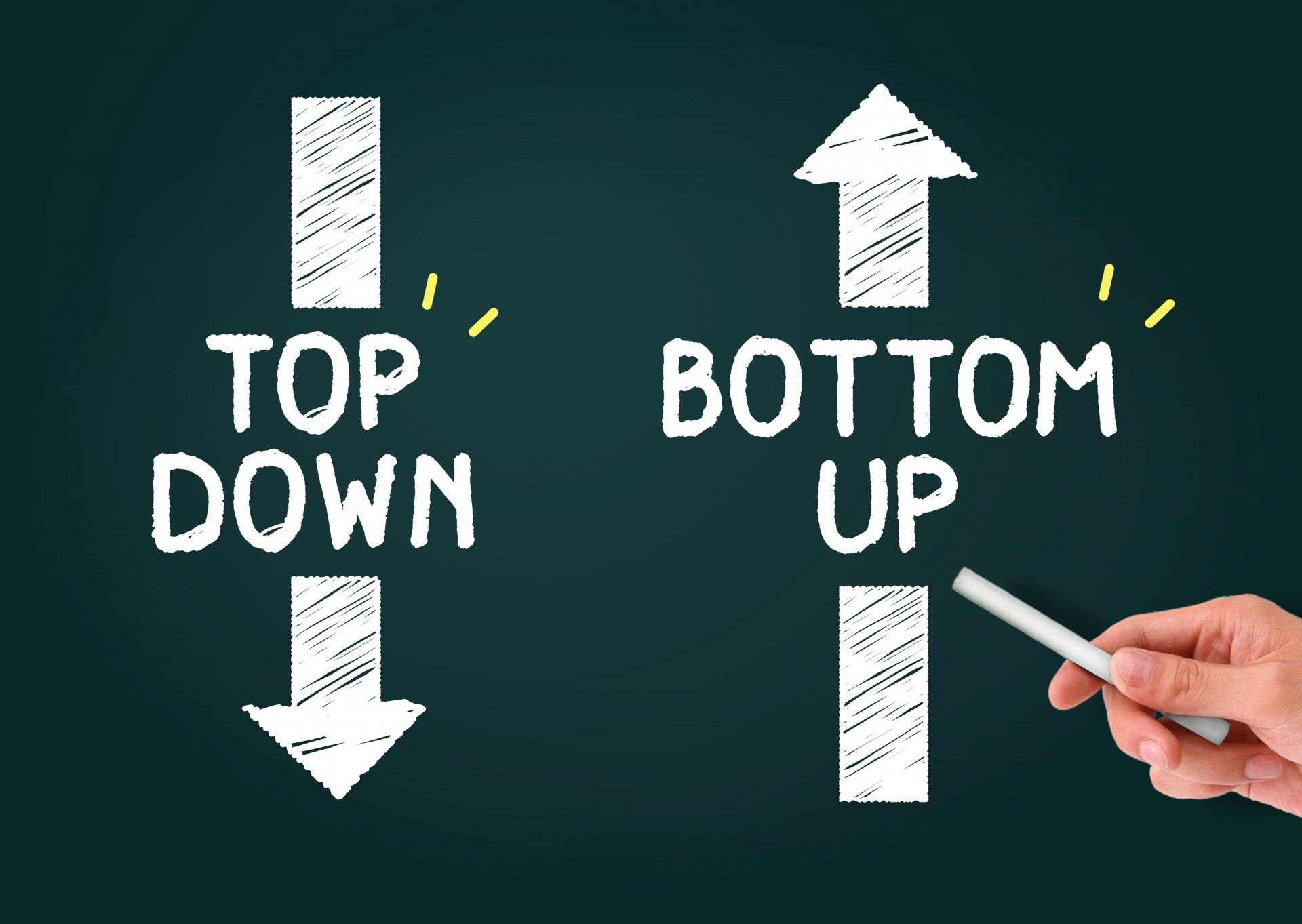 2-6-2の法則を営業力強化に活かす方法_ボトムアップ