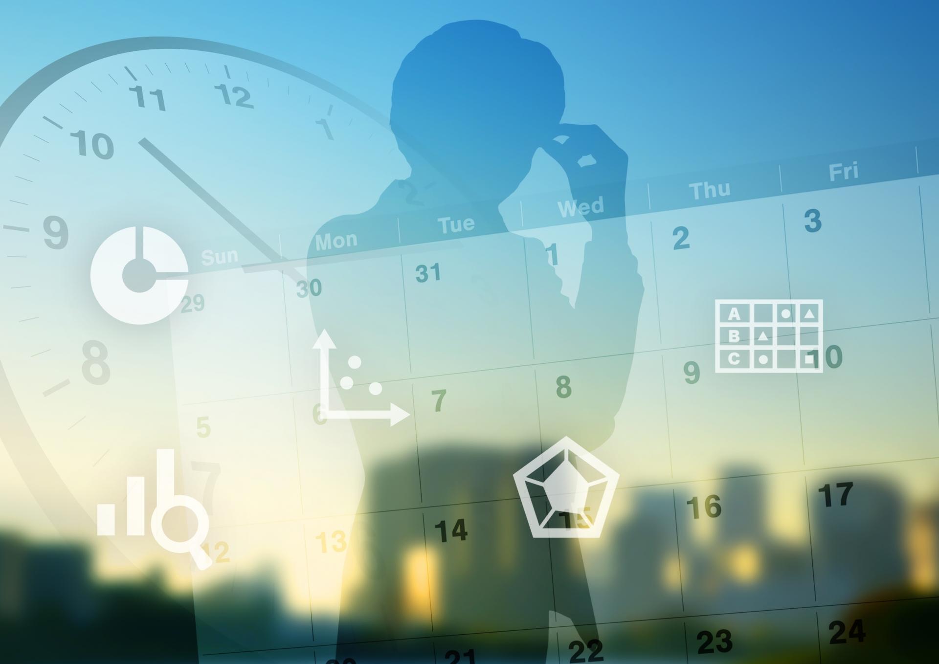 仕事・業務の生産性向上アップ術_時間