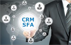 CRM/SFAでの管理